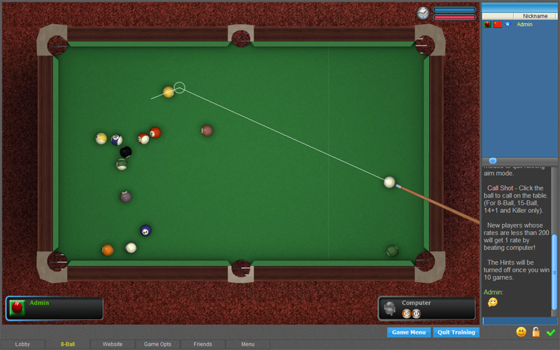 Windows 8 Poolians Free Pool 2D full